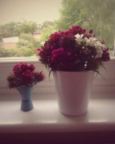 Finished Flower Arrangements