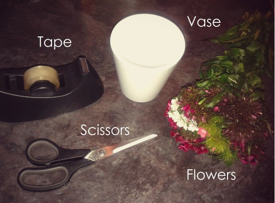 What You'll Need - Flower Arrangement